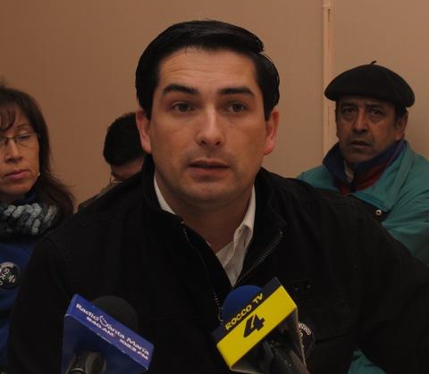 Julio Lopez, presidente regional Anef Aysén.
