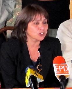 Marisol Martínez, alcaldesa de Aysén.