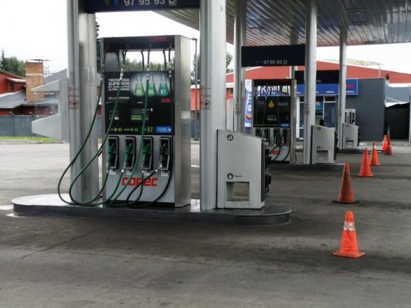 No habrá combustible para particulares, sólo para vehículos de emergencia.