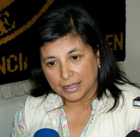 Marcia Raphael, seremi de Gobierno de Aysén.
