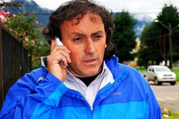 Iván Fuentes, vocero del Movimiento por Aysén.