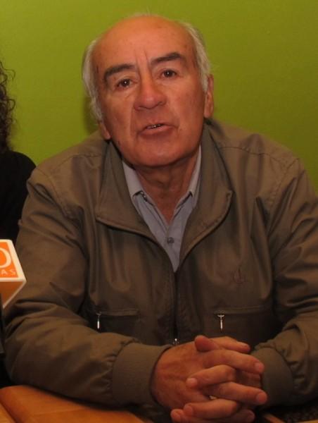 Joaquín Soto, dirigente del PPD en Coyhaique.