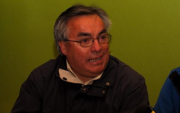 Nelson Maldonado, presidente PS Aysén.
