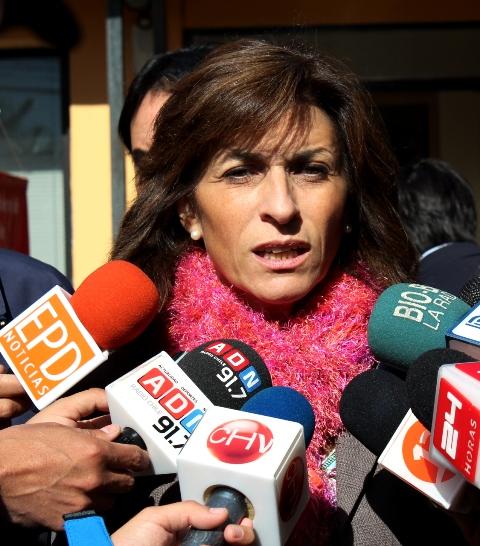 Pilar Cuevas Mardones, intendenta de Aysén.