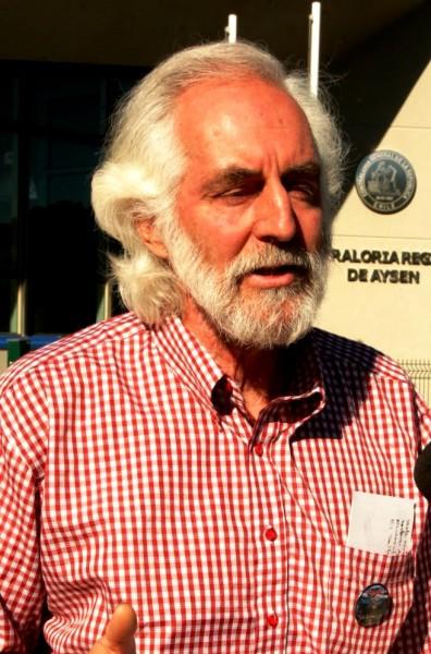 Peter Hartmann, vocero Coalición Aysén Reserva de Vida.
