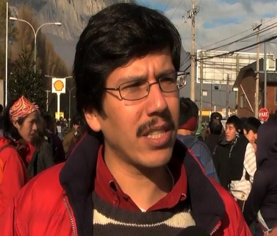 Patricio Segura, dirigente de Patagonia Sin Represas.