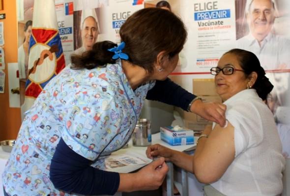 vacuna contra la influenza