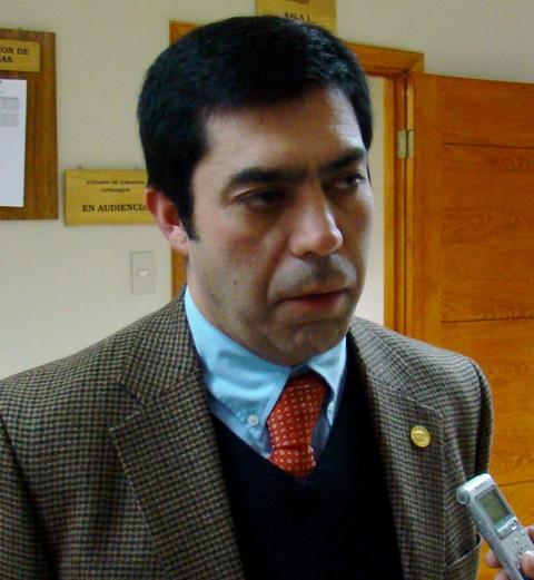 Pedro Salgado, fiscal regional de Aysén.