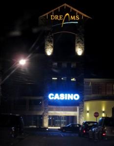 Casino Dreams Coyhaique superó el medio millón de dólares en ganancias durante noviembre 2012.