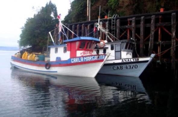 El procedimiento en la zona del Canal Puyuhuapi es parte de la fiscalización de la Ley de Pesca.