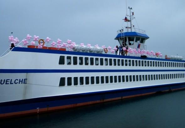 Barcaza La Tehuelche adhirió a campaña de detección precoz de Cáncer de Mama.