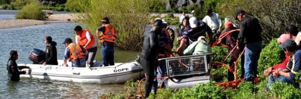 Gope extendió a 20 kilometros el área de búsqueda tras caída de lugareño al río Cáceres.