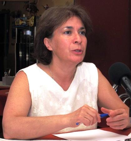 Viviana Betancourt, se postula por segunda vez al Congreso.