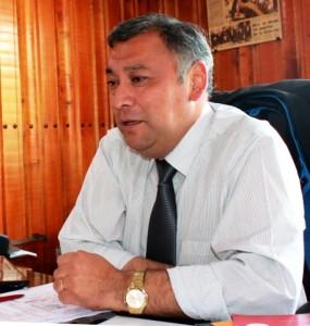 Alejandro Huala, alcalde de Coyhaique.