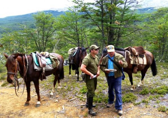 Busqueda de turista en Reserva Tamango