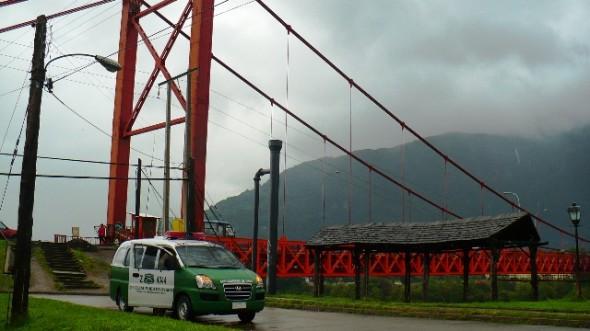 Carabineros continúa la búsqueda en Puerto Aysén.