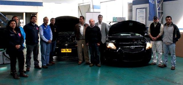 Comenzó el proceso de reconversión de estanque a gas para Taxis Básicos y Colectivos en Coyhaique