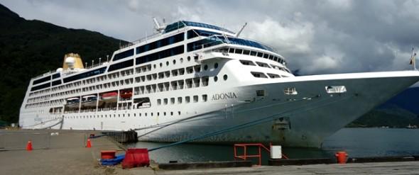 En 3 días desembarcaron en Puerto Chacabuco más de 2 mil turistas de Cruceros
