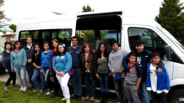 Anuncian nuevo Servicio de Transporte Escolar para Valle Simpson y Villa Frei