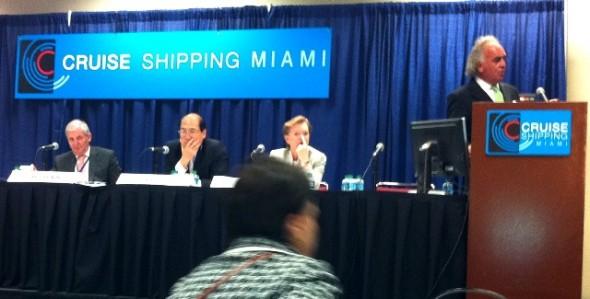 Presidente de Corporación de Puertos Participó en Foro Inaugural Seatrade Miami.