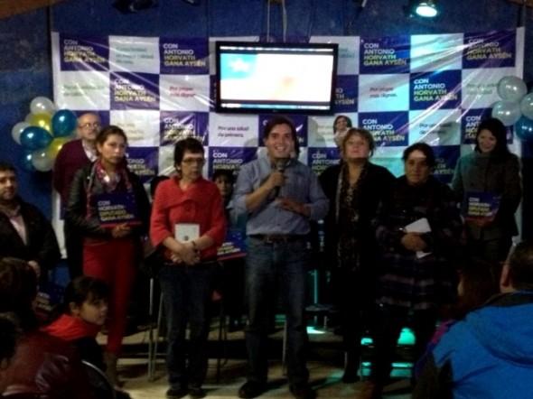 Antonio Horvath Gutiérrez lanzó campaña y espera imponerse en primarias de RN