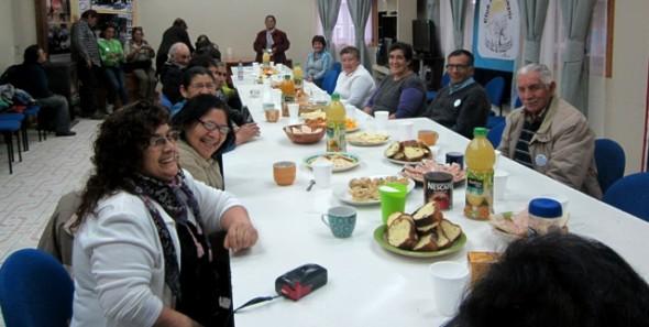 Concejales  Rodrigo Rivera y Nilda Soto apoyan y organizan 1er encuentro de Adultos Mayores  en la comuna de Cochrane