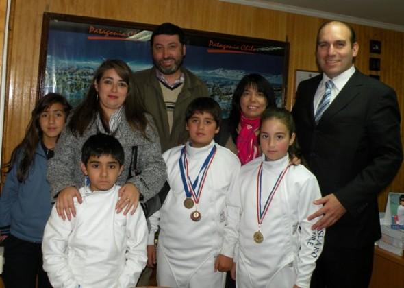 Escuela de Esgrima 14 de Aysén