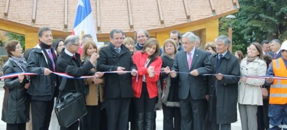 Inauguran nueva Plaza en Puerto Aysen