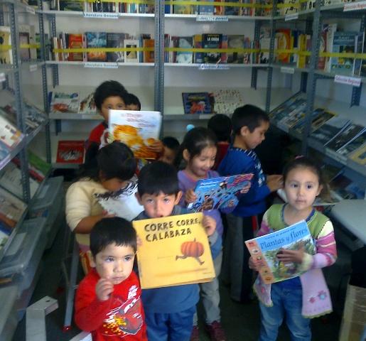 Bibliobus niños