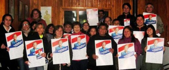 Comando Bachelet en Puerto Aysén