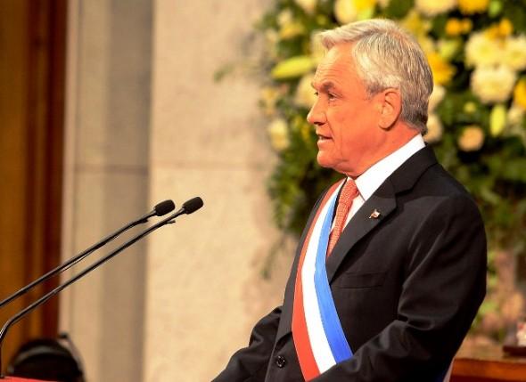 Presidente Piñera en discurso 21 de mayo 2013