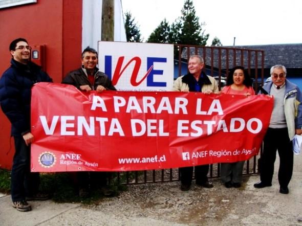 ANEF Aysén recorrió servicios publicos