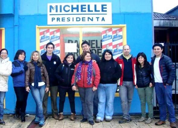 Comando Jovenes por Michelle Bachelet en Aysén