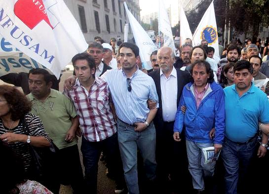 Durante el Movimiento Social de Aysén