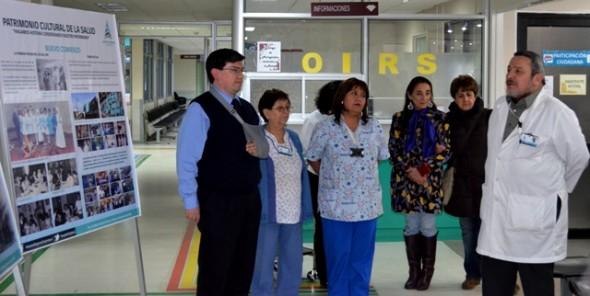 Expo en Hospital de Coyhaique