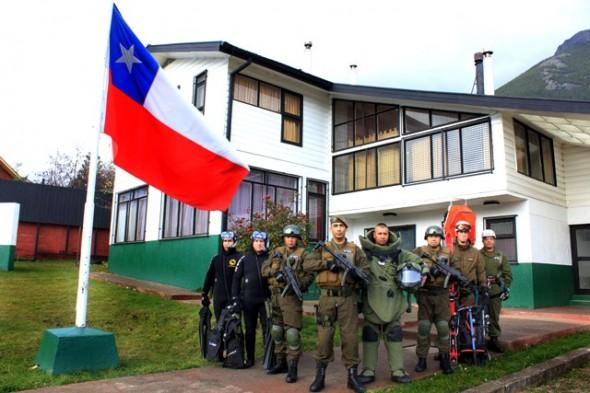 La unidad especializada opera en Aysén tras erupción del Volcán Hudson a mediados los '90