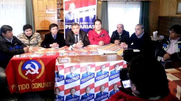 PC se suma a Comando Bachelet en Aysén
