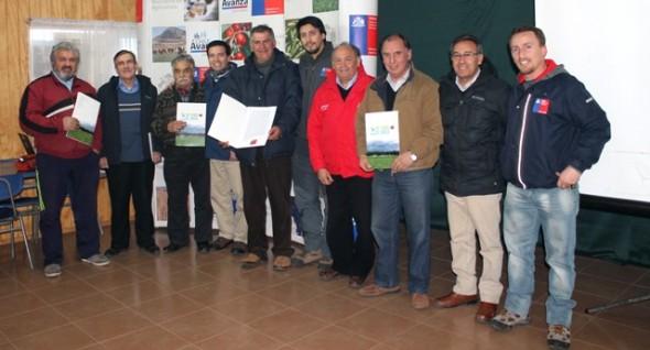 56 Productores de Puerto Ibáñez serán propietarios del agua de sus predios.