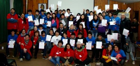 Con muestra de talentos concluyeron Campamentos de Invierno en Inglés 2013