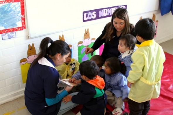 Taller Formativo Enfocado a padres, madres y estudiantes técnico en Educación Parvularia