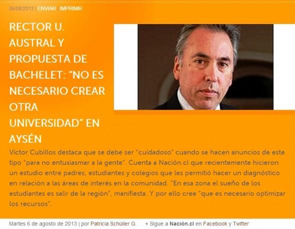 Cubillos La Nacion