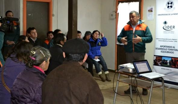 En las localidades de Ñirehuao y Villa Ortega se realizó los Cabildos Ciudadanos