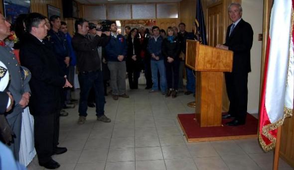 Inauguración Servicio Nacional de Pesca y Acuicultura – Dirección Regional  de Aysén.