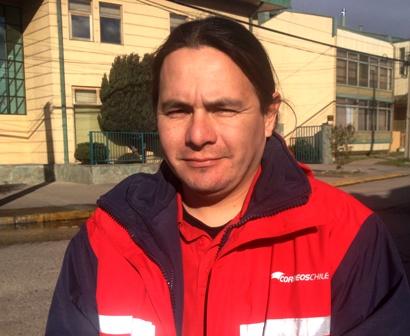 Raul Cifuentes Marín, dirigente Correos de Chile Coyhaique