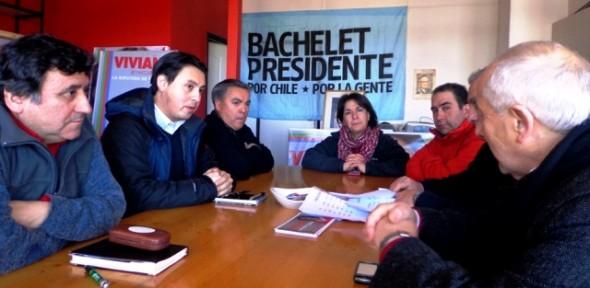Reunión Candidatos Consejeros PS y Viviana Betancourt