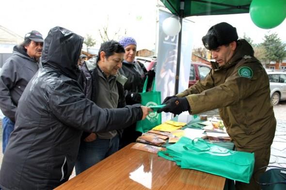 A través de campaña carabineros incentiva entrega voluntaria de armas de fuego