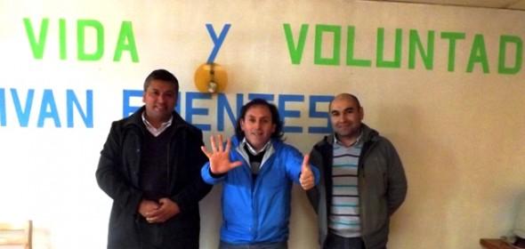 Alcalde y concejal de Caleta Tortel respaldan candidatura de Iván Fuentes