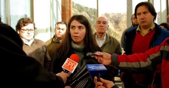Candidata a diputada, Claudia Torres