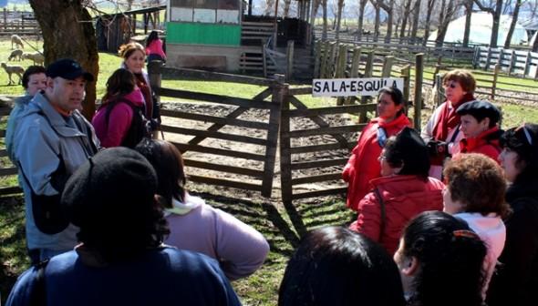 Fructífero Día de Campo en Coyhaique congrega a mujeres campesinas de Aysén
