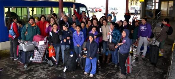 Regresó delegación de niños y niñas que visitaron Santiago